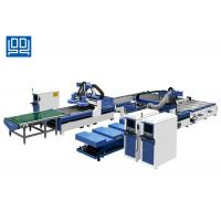 Wholesale Kitchen Cabinet Wooden Door Production Line With Auto Sticker Labeling System from china suppliers