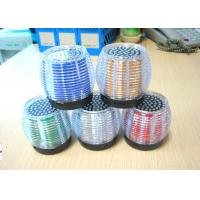 Wholesale AUX Bass Insert Card Bass Flashlight Crystal Bluetooth Speakers Hands-free from china suppliers