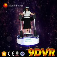 China Interactive Virtual Reality Experience Mobile 9d Cinema Standing Up 9d Vr Simulator on sale