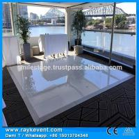 Singapore 4 4ft White Amp Black Wedding Dancing Floor Dj