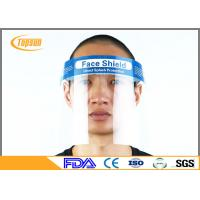 Wholesale Double Side Disposable Surgical Face Shield Visor Mask For Protection Anti - Fog from china suppliers