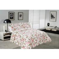 Wholesale Chrysanthemum Pattern Colourful Quilt Covers , Home King Queen Size Bed Quilt Covers from china suppliers