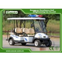 Wholesale 4 Seater Electric Golf Cart For Security Cruise Car With Caution Light from china suppliers