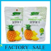 Wholesale Aluminum Foil Plastic Food Bags , Dehydrated Fruits Packaging Doypack Pouch from china suppliers