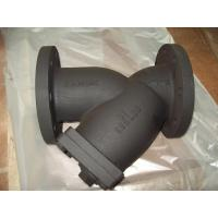 Wholesale Ductile Iron / Cast Iron Boday, DN50 - DN400 mm Size ANSI B16.10 Y-Strainer from china suppliers