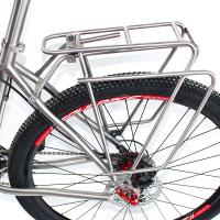 Wholesale Ti3AL2.5V Titanium Bike Parts Rear Rack Bike Carrier Pannier For Luggage from china suppliers