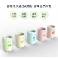 Wholesale Luxury Scented Pillar Candle Soft And Long Lasting Perfume Scented Custom Logo from china suppliers