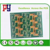 Quality Multi - Layers Rigid Flex PCB Polyimide 1-3 Oz Fr4 Base Material RoHs Approval for sale