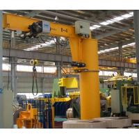 China Pillar Column Mounted Jib Crane 500kg High Safety With Emergency Stop Function on sale