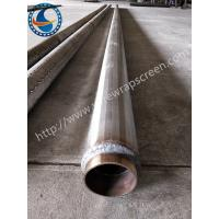 Wholesale Deep Well Pipe Base Screen High Flow Capacity Outer Diameter 114mm from china suppliers