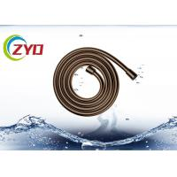 Wholesale Golden / Custom Color Shower Handheld Hose, Tight Docking Shower Extension Hose from china suppliers