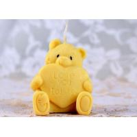 Buy cheap cute bear personalized candle silicone rubber molds non