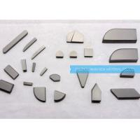 Professional Brazing Carbide Inserts With Native Material / Vacuum Sintering