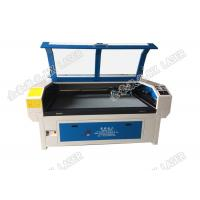 Wholesale Double Head Ccd Laser Cutting Machine  Printed Apparel Trademark Jhx - 10080 II from china suppliers