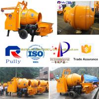 Pully jbt40 p1 compact diesel engine mini concrete mixer for Cement mixer motor for sale