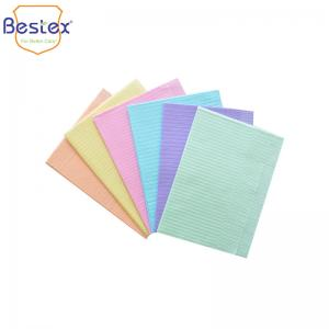 Wholesale Waterproof Adult 1ply 2ply 3Ply Disposable Dental Bib from china suppliers