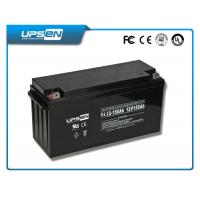 China Gel Cell Battery Sealed Rechargeable Lead Acid Battery High Discharge Rate on sale
