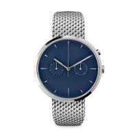 Wholesale Ladies Watches Blue Face Stainless SteelCase , Ladies Silver Tone Watches from china suppliers