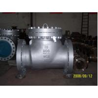Wholesale OEM WCB / LCB / LCC case steel swing check valve, class 150 / 300 / 600 from china suppliers