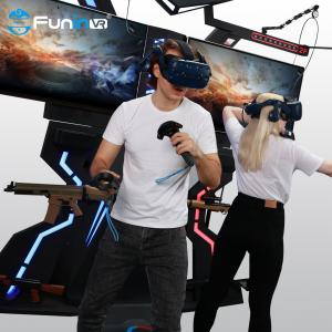 Wholesale gaming chair racing simulator virtual gaming cars 9d vr motion platform VR FPS from china suppliers