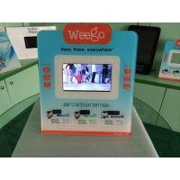 Wholesale 7 Inch Calender / Clock UV Printed POS Advertising Display With Video Auto Play from china suppliers