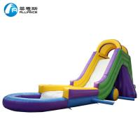 Wholesale Colorful Kids Inflatable Water Slide Waterproof With Painting / Sewing from china suppliers