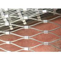 China Stainless Steel Rope Mesh Fence for Green Wall System and Plant Climbing on sale