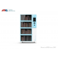 Buy cheap MINI Smart Bookcase RFID Library Reader 24 Hours Books Check Out from wholesalers