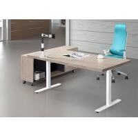 Wholesale Good Craft Executive Office Furniture , Luxury Executive Desks Fine Wood Material from china suppliers