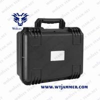 Wholesale Briefcase Style Design Portable Signal Jammer Adjustable Indoor / Outdoor 10 Antenna 10 Band from china suppliers