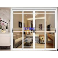 Wholesale Weatherproofing Bifold Sliding Doors , White Aluminium Sliding Glass Doors from china suppliers