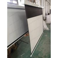 Wholesale Cynthia white casing four arrises shell electric projection screen from china suppliers