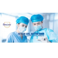 Custom Printed Nonwoven Fabric Face Mask Doctor And Nurse Use Face Mask