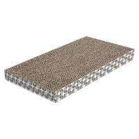 Wholesale Eco - Friendly Cardboard Scratch Pad Customized Shape To Shed Cats' Claws from china suppliers