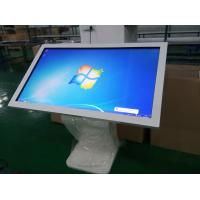white color 55inch IR touch Kiosk with built in Windows 8 system(real copy)
