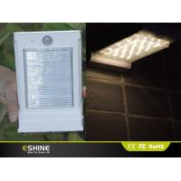 China Outdoor Wall Solar Motion Sensor Light Aluminum PC with 16 LEDs on sale