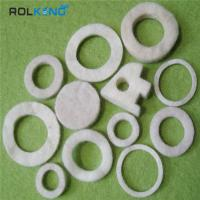 Wholesale Natural White 3mm, 5mm or 1mm - 100mm 100% Industrial Wool Felt Washers from china suppliers