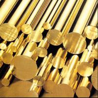 Wholesale Alloy Brass Round Rod C3600 Yellow Color Brass Brazing Rod from china suppliers