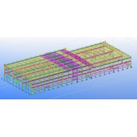 Wholesale Pre-engineered Prefabricated Steel Commercial Structural Engineering Designs from china suppliers