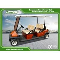 Wholesale EXCAR Club Car Electric Golf Buggy cart Brown Red For 4 And 2 Passenger from china suppliers