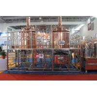 Wholesale Copper Craft  Small Beer Factory Equipment , 100L Mini Beer Making System from china suppliers