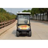 Wholesale 4 Wheel Drive 6 Seat Electric Golf Cars With Golden Color / Electrical Golf Buggy from china suppliers