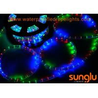 China Round F3 Dimmable Flexible LED Rope Lights , RGB Color Changing LED Rope Lights on sale