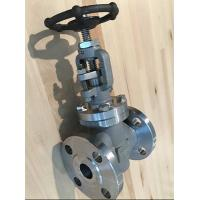 Wholesale API602  FORGED STEEL VALVE GLOBE VALVE  150lb 300lb integral flange RF F304 F316 F321 from china suppliers
