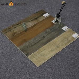 China 6x24 Wood Look Ceramic Tile Non Slip Industrial Floor Tiles Antibacterial on sale