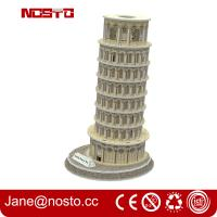 Wholesale 3d puzzle famous buildings , 3D puzzle souvenir leaning tower of pisa from china suppliers