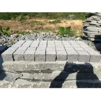 Wholesale Dark Grey Granite Paving Stones Exterior Decoration Eco - Friendly from china suppliers