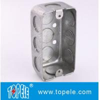 Wholesale TOPELE 58351 / 58361 / 58371 Galvanized Steel Box Rectangular Handy Box Utility Box from china suppliers