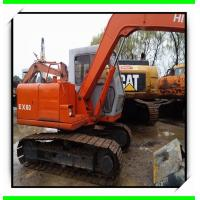 China 1995 ex160  hitachi used excavator for sale 07m3  track excavator isuzu engine minit excavator on sale