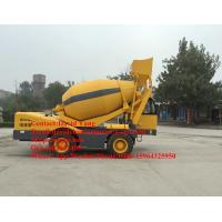 Wholesale 4 M3 mobile self loading concrete mixer with Cummins engine self-loading concrete mixer truck for sale from china suppliers